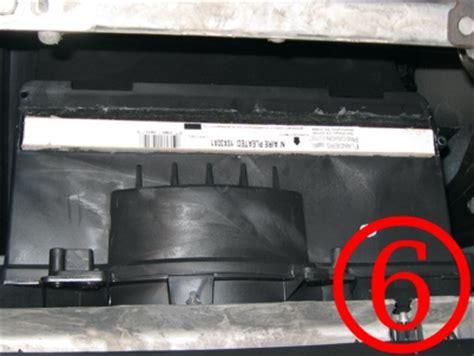 2005 pontiac g6 filter how to install a cabin air filter pontiac g6 forum