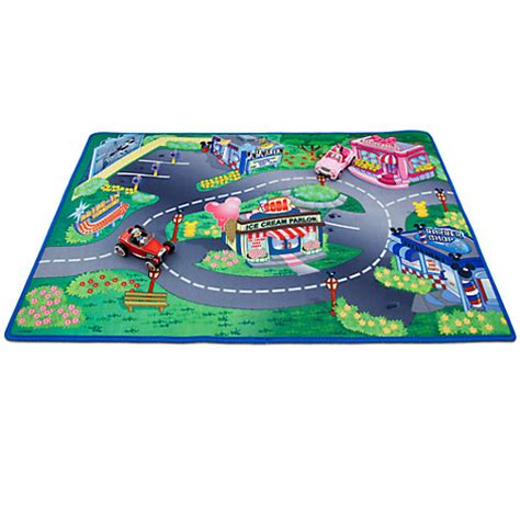 disney minnie mickey mouse play mat vehicles play set