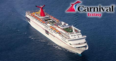 carnival ecstasy cruise ship carnival ecstasy carnival cruise ship