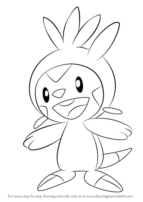 pokemon coloring pages of chespin step by step how to draw chespin from pokemon