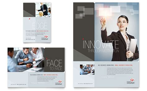 ad layout inspiration corporate business flyer ad template design