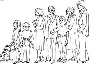 family coloring pages coloring pages family picture 58