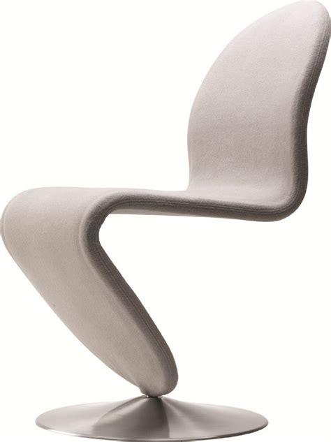 verner panton chaise chaise verpan en tissu tonus ivoire