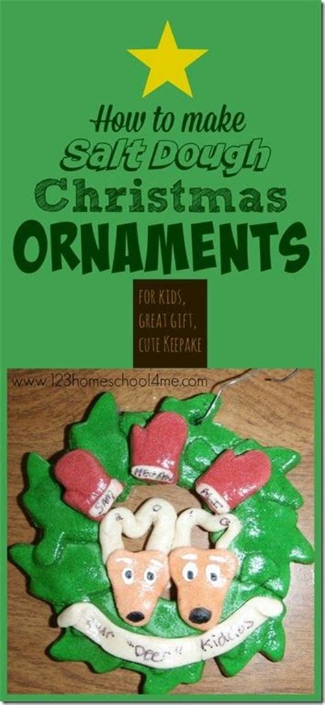 how to make a salt l how to make your own salt dough ornaments includes a no