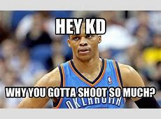 Hey, KD - Russell Westbrook Has No Idea What a Meme Is ... Russell Westbrook House