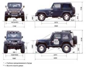 dimensions jeep wrangler