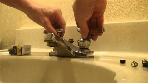 How To Change A Kitchen Faucet Washer by Faucet Change Washer Fix