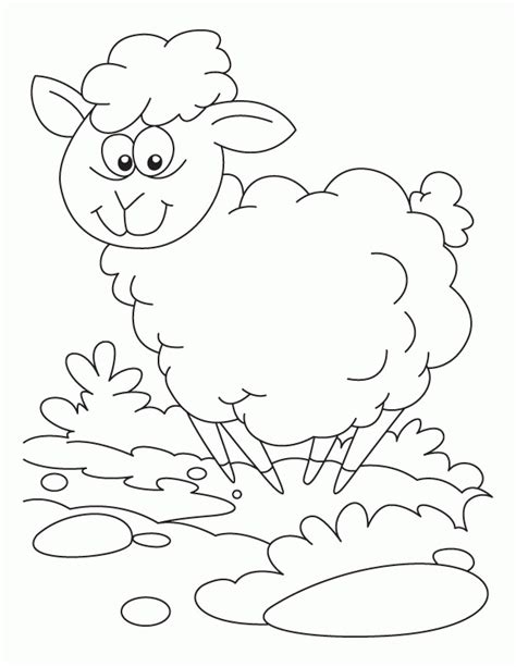 coloring page baa baa black sheep baa baa black sheep coloring page coloring home