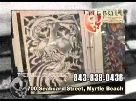 tattoo shops myrtle beach sc myrtle shops pitbull clinic