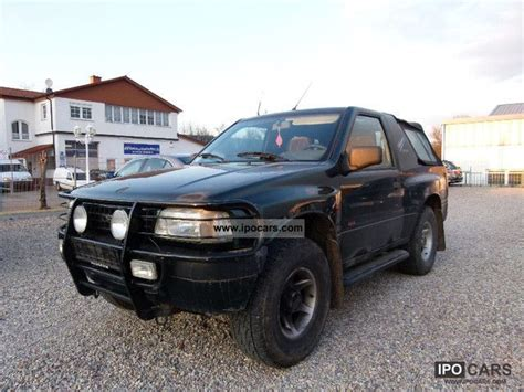 opel frontera 1995 1994 opel frontera soft top related infomation