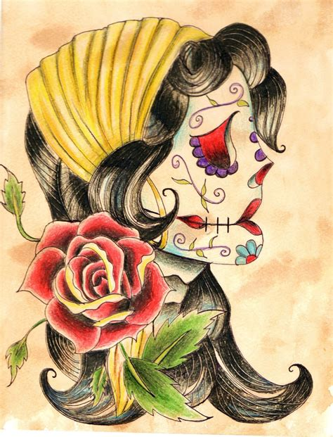 gypsy rose tattoo images designs