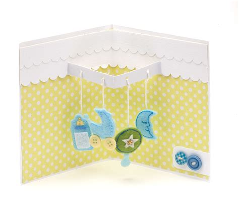 pop up card baby template card ideas for new baby baby mobile pop up