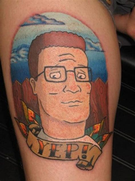 bobby hill tattoo sa current photos 11 king of the hill tattoos yep