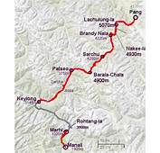 Manali To Leh By Cycle  Bumpy Trail Bicyclists