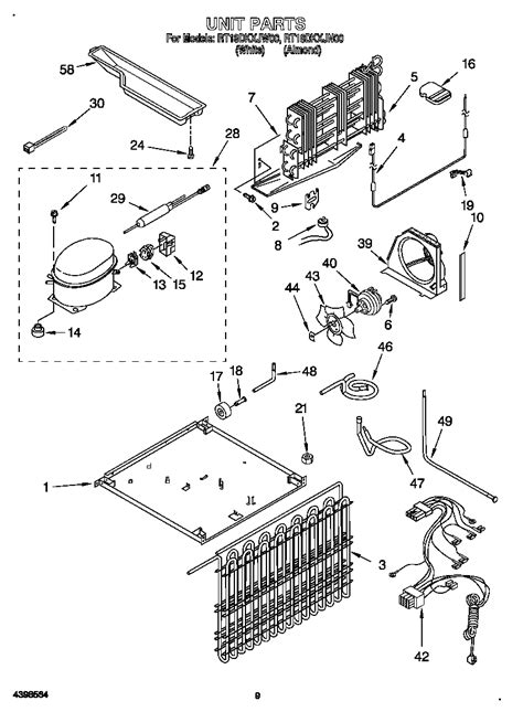 roper refrigerator parts diagram 301 moved permanently