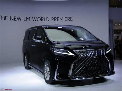 lexus mpv 2020 2019 lexus lm luxury mpv based on the toyota alphard