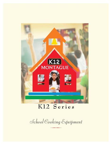 k12 brochure cooking equipment for schools