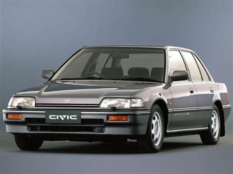 Honda Civic 1987 honda civic sedan ef 1987 design interior exterior