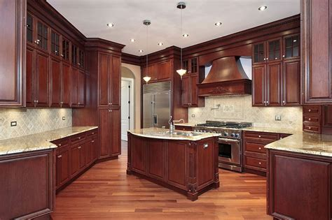 dark mahogany kitchen cabinets kitchen cabinets gallery