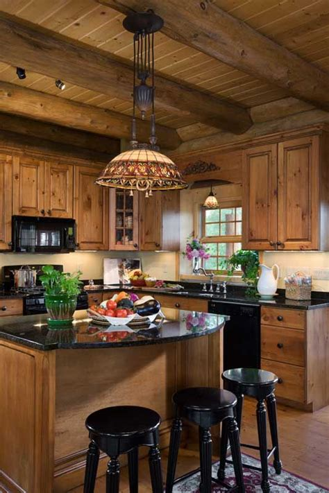 cozy kitchens 40 cozy chalet kitchen designs to get inspired digsdigs