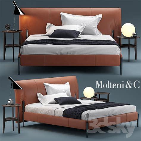 3d models bed bed molteni beds nick