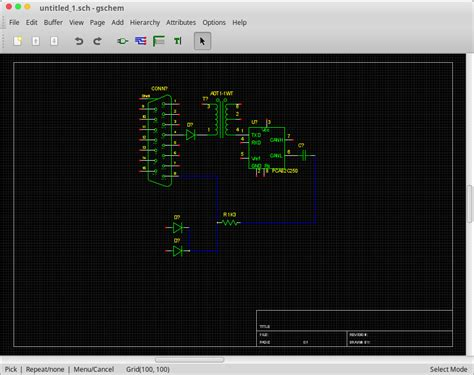 aplikasi layout pcb gratis geda aplikasi menggambar rangkaian elektronika di ubuntu