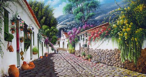 imagenes de paisajes pintados al oleo im 225 genes arte pinturas paisajes r 250 sticos al 211 leo