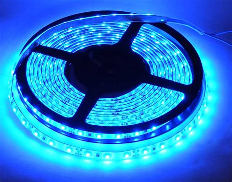 5m Blue Led Lighting Strip 12v Mpja Com Blue Led Lights Strips