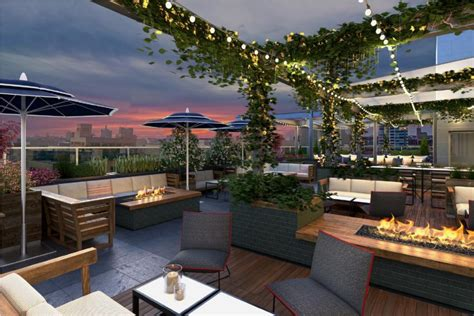 Roof Patio new milwaukee restaurant and rooftop bar amp lounge opening