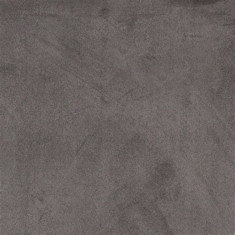 gray microsuede suede upholstery fabric by the yard
