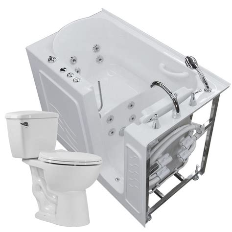 heated whirlpool bathtubs universal tubs nova heated 52 75 in walk in whirlpool