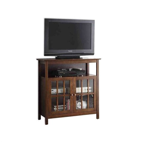 Big Sur Highboy TV Stand   Espresso   8066070