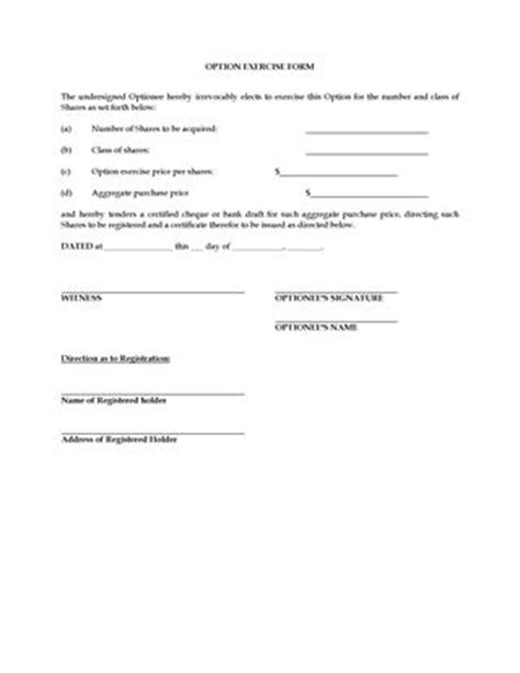 stock plans and incentive programs forms and