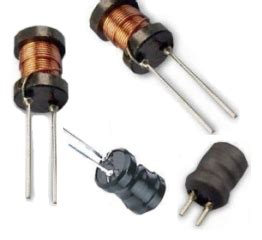 power inductor vs choke through and radial inductor inductor leaded