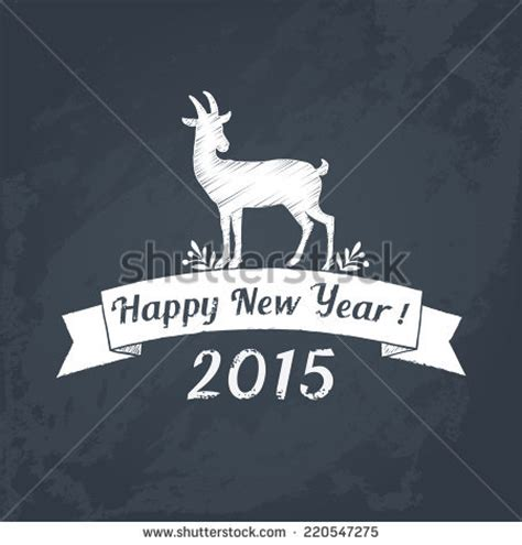 new year goat wishes stock images royalty free images vectors