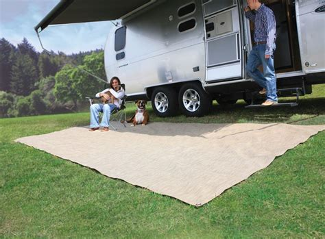 Rv Patio Accessories Camco Premium Rv Leisure Mat W Storage Bag And Stakes