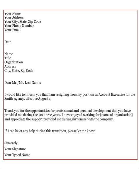 heartfelt resignation letter heartfelt resignation letter template 7 free word pdf