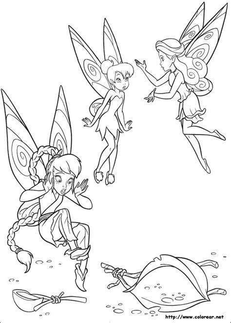 Dibujos para colorear de Campanita