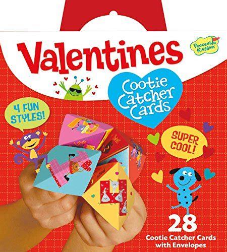 peaceable kingdom valentines peaceable kingdom cootie catcher