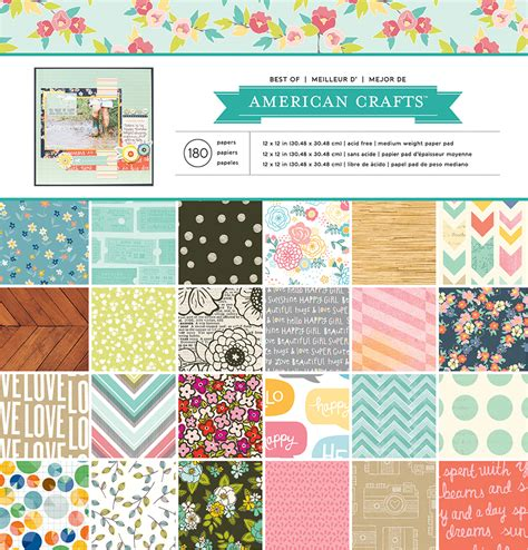 American Craft Paper - american crafts paper pads milk paint thickers and more