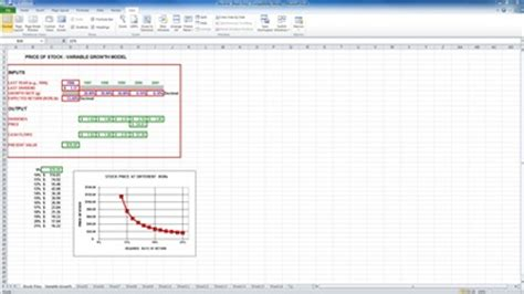 Stock Valuation Excel Template Stock Valuation Excel Template