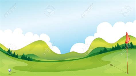 clip golf scenery clipart golf pencil and in color scenery clipart