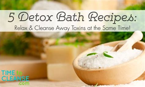 Easy Detox Spa by Relaxing And Detoxing Yes 5 Easy Bath Recipes To