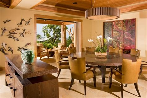 tropical dining room dining room tropical dining room hawaii by saint
