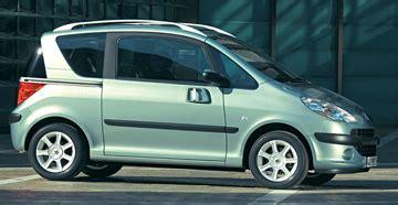 coches con puertas correderas peugeot 1007 2005 dos puertas correderas y espacio