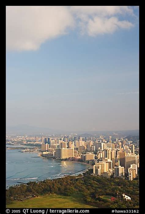 Waikiki In The Morning by Picture Photo Honolulu Seen From The Crater