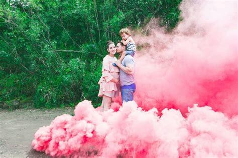 Smoke Bomb 90 Dtk pink x2 set pink set gender reveal smoke bombs newborn baby shower engagement wedding
