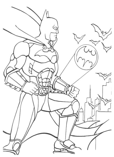 coloring book pages batman free printable batman coloring pages for