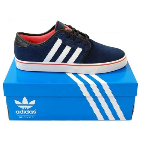 Adidas Seely Navy adidas originals seeley collegiate navy mens clothing