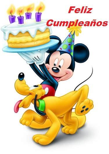 imagenes cumpleaños de mickey mouse preciosas imagenes de feliz cumplea 241 os con mickey mouse